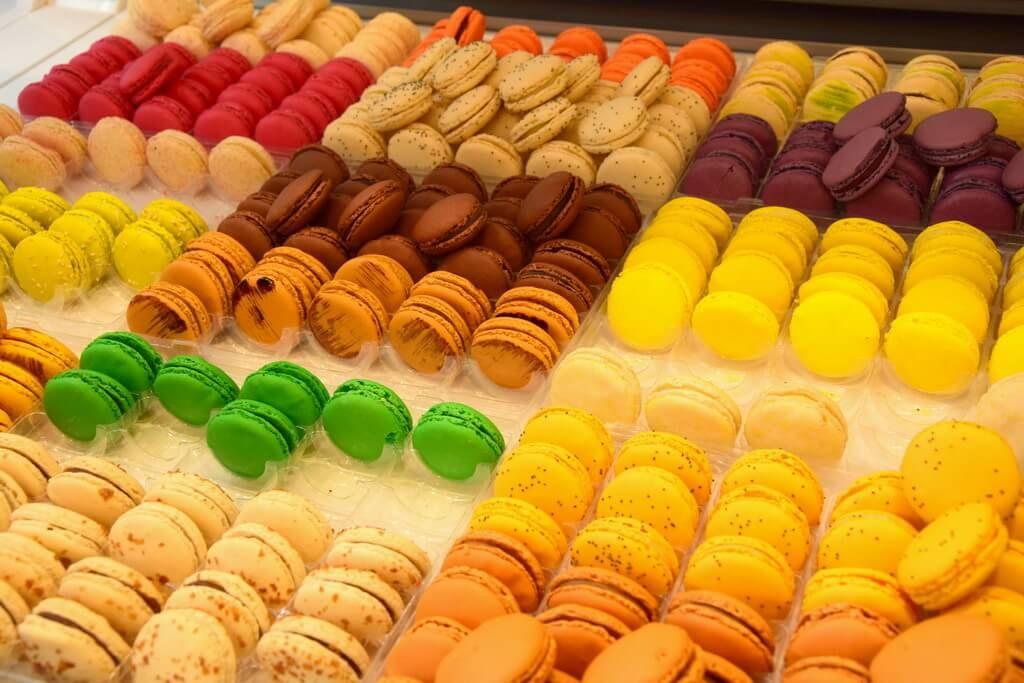 Macarons Bamas pendant les journées du chocolat de Bayonne Pays Basque