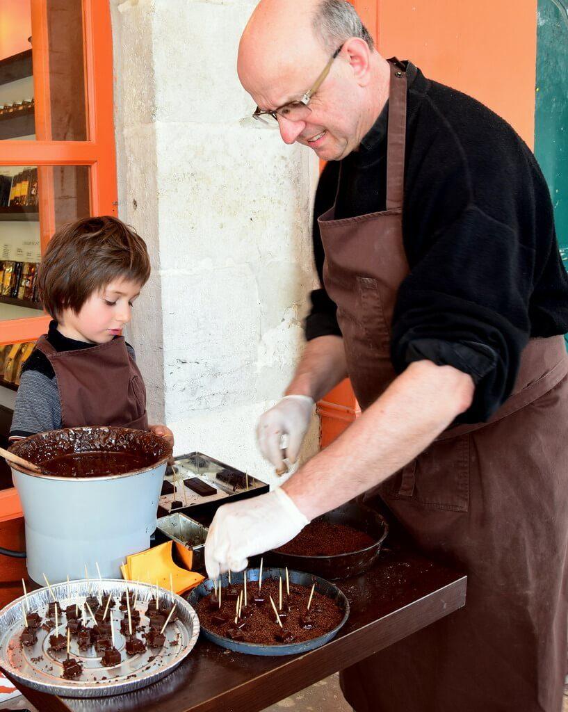 Festival du chocolat de Bayonne Pays Basque avec dégustation de chocolat