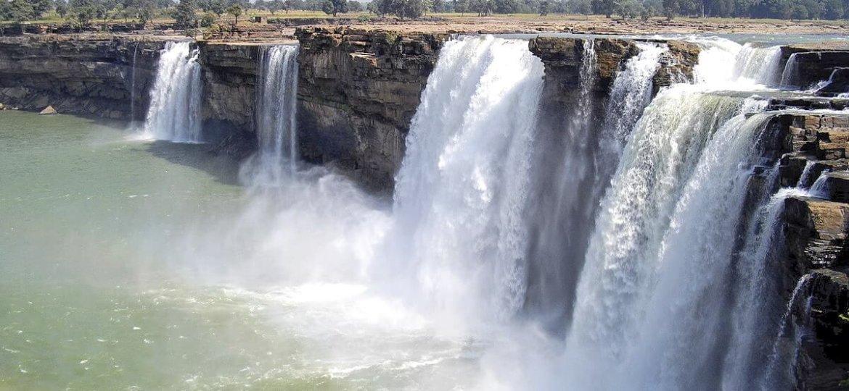 Chutes d'eau de Chitrakote Bastar Chhattisgarh Inde