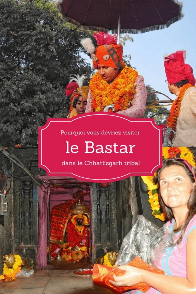 Le Maharaja du Bastar et Stéphanie Langlet, supportrice des tribus d'Inde centrale