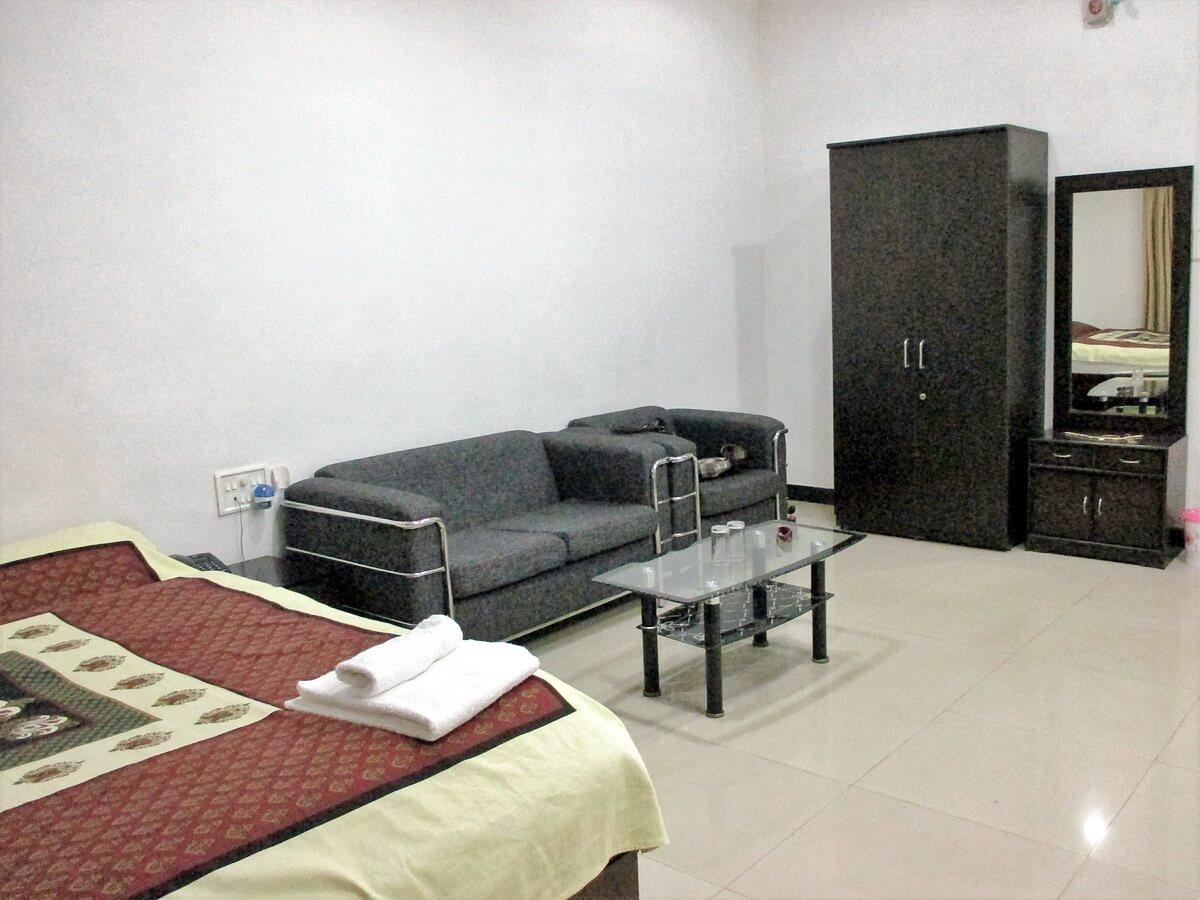 Chambre de Sa Sainteté Resort Hieun Tsang Sirpur