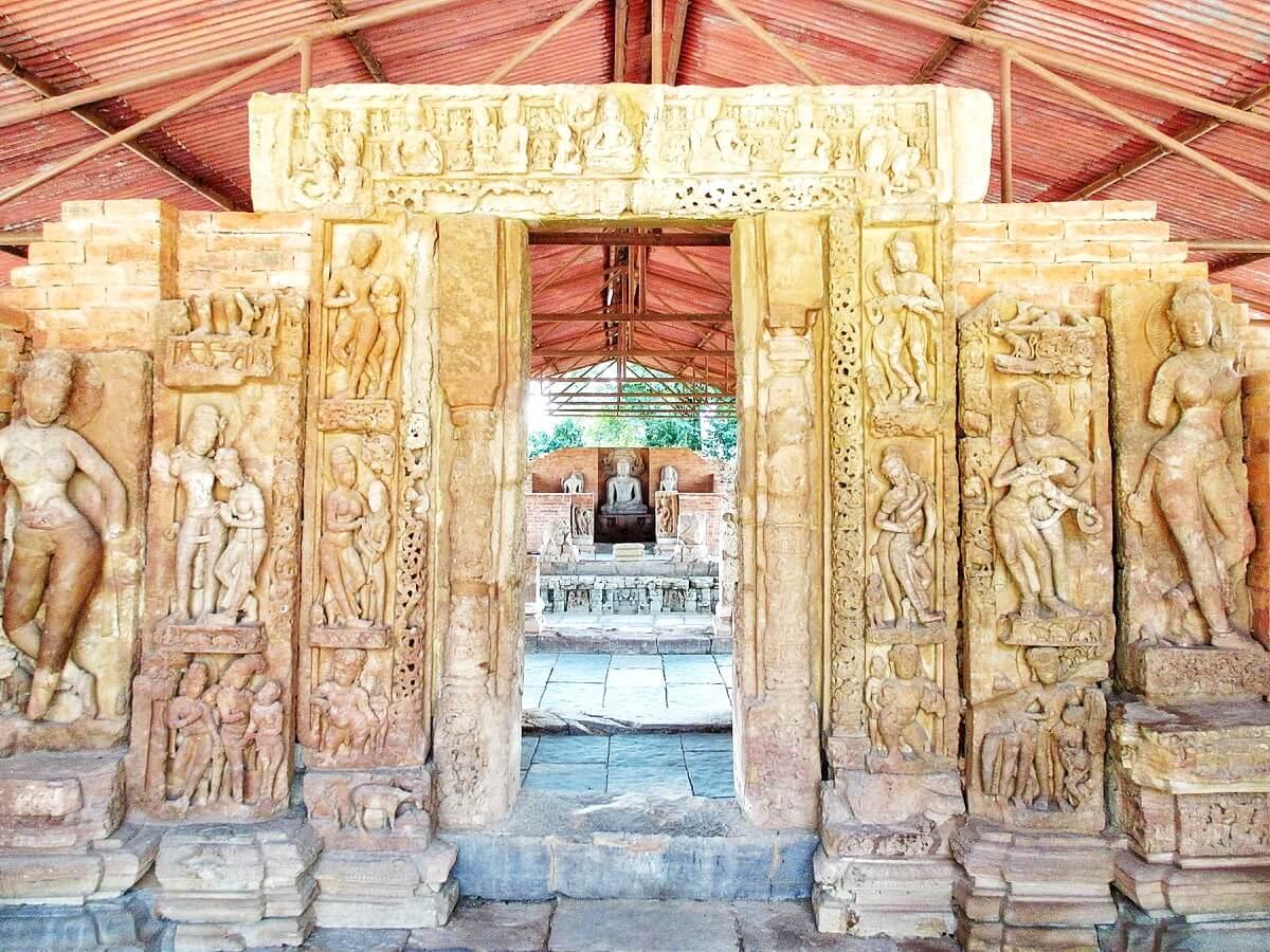 Temple Bouddhiste de Sirpur dans le Chhattisgarh en INde