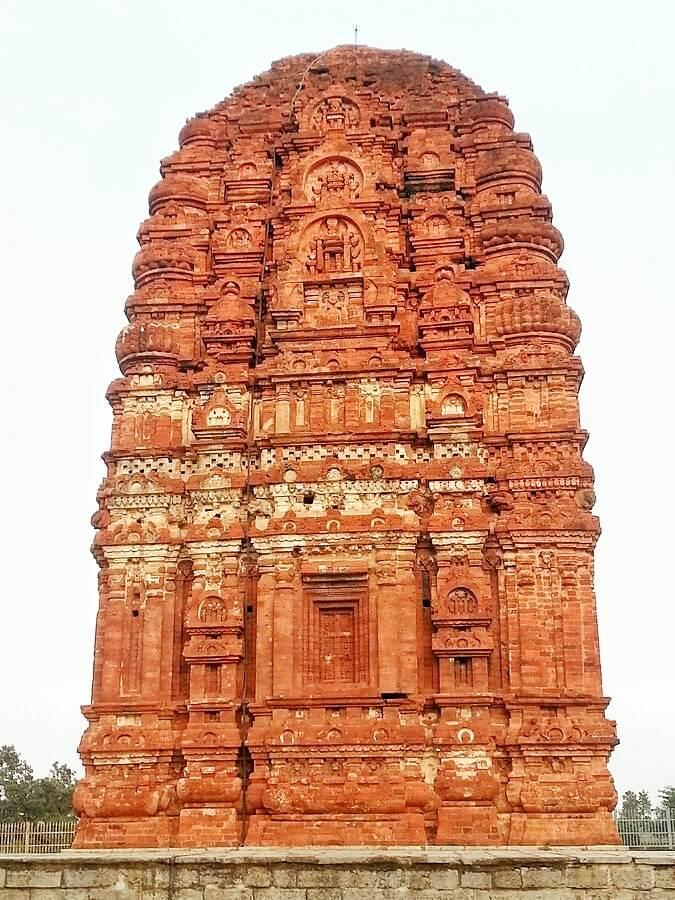 Temple de Lakshman dédié à Vishnou Sirpur Chhattisgarh Inde
