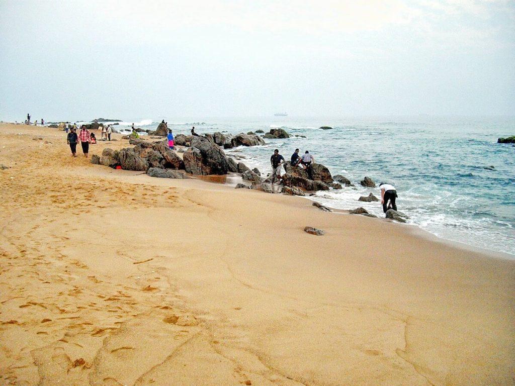 Plage Inde Voyage Visakhapatnam Vizag, la Goa de la côte est