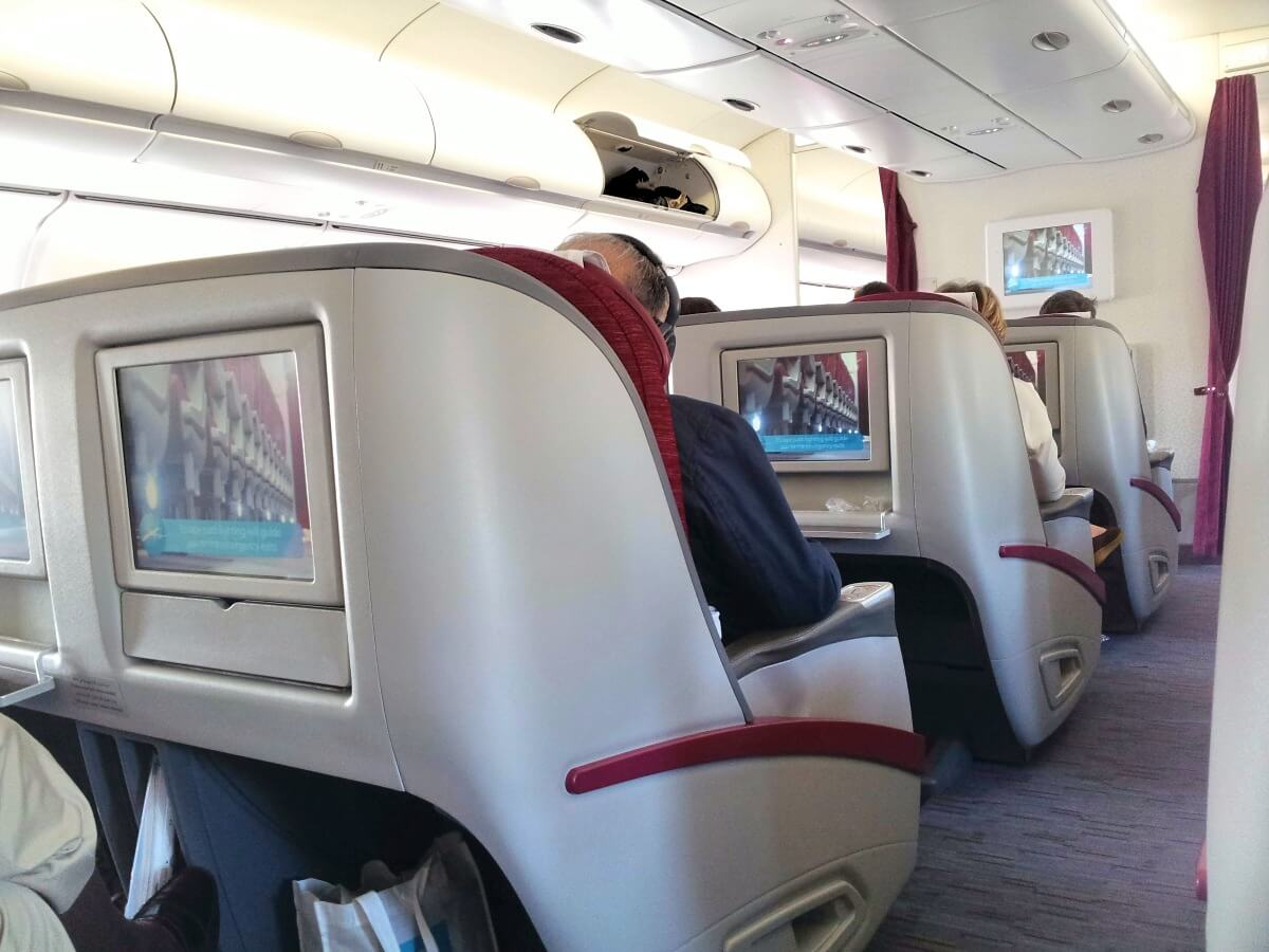 Business Class de Qatar Airways