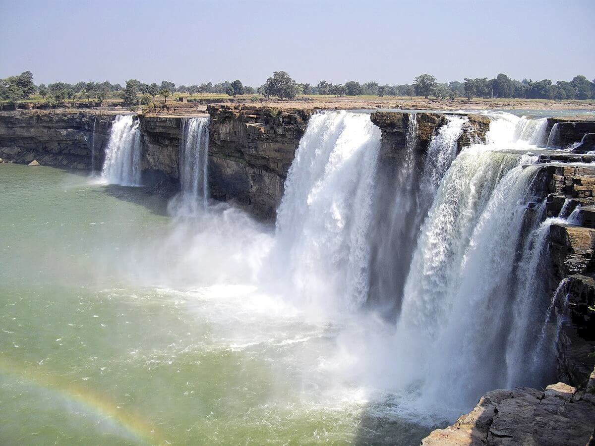 Chitrakote waterfall in Bastar district Chhattisgarh state India