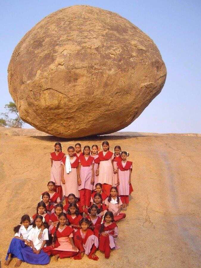 Monument de Mamallapuram Tamil Nadu Inde