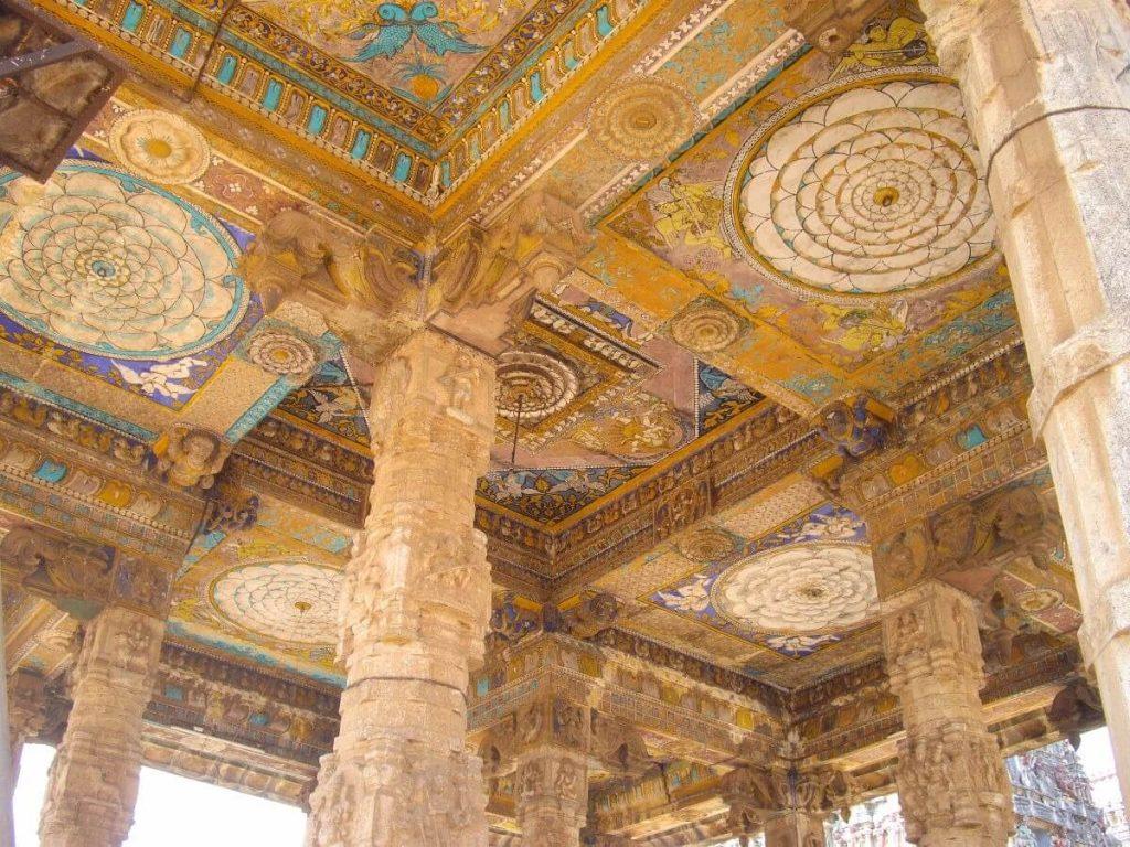 Temple ancien près de Mammalapuram Tamil Nadu Inde
