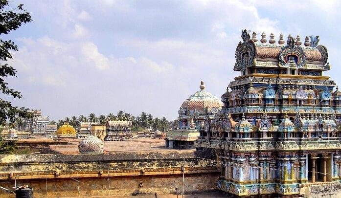 Temple de Ranganathaswamy Tiruchirapalli Tamil Nadu Inde