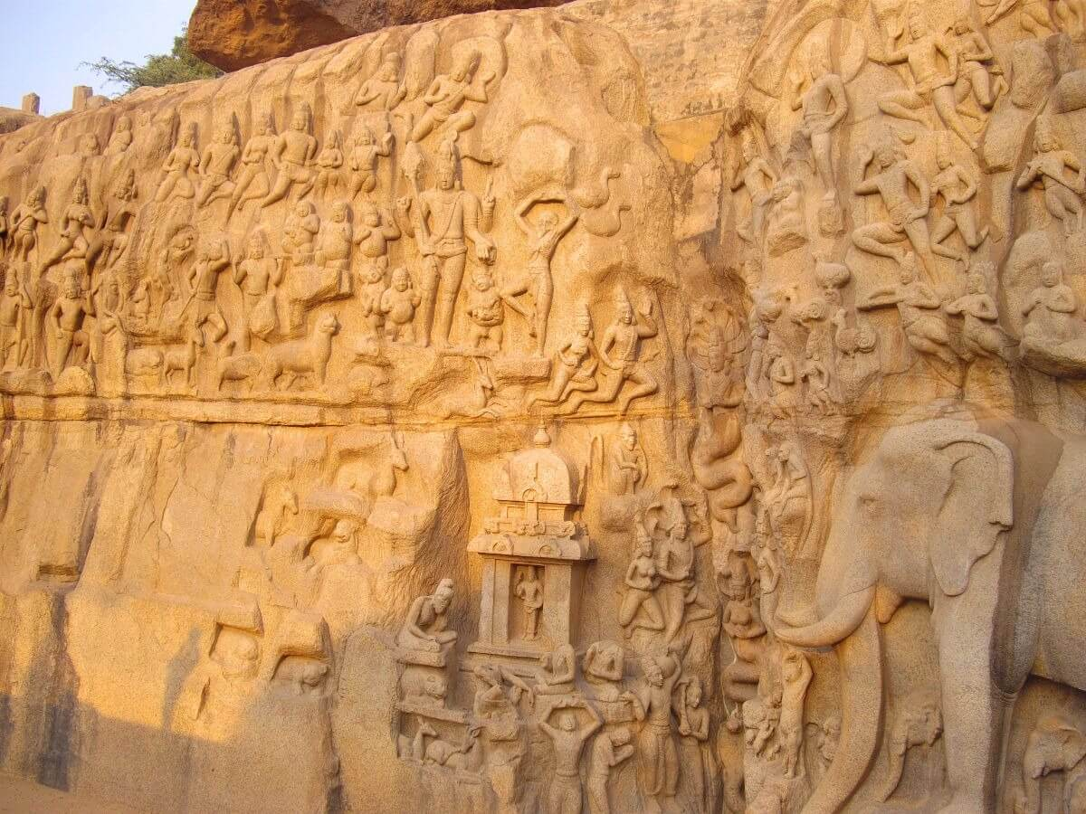 Descent of the Ganges Mamallapuram Tamil Nadu