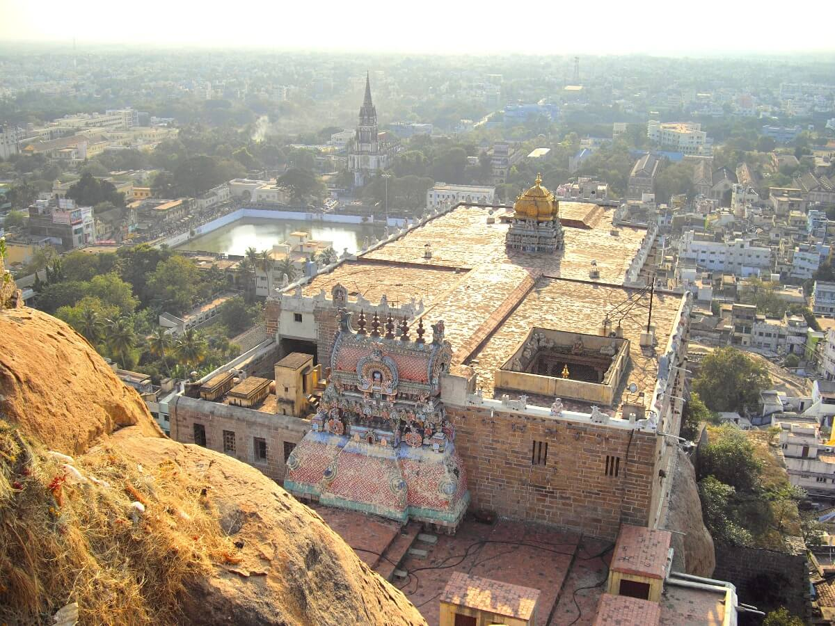 Tourist places in tamilnadu - Tiruchirapalli Rock Fort