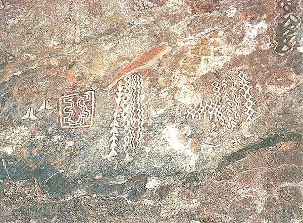 Kabra Pahad Raigarh Chhattisgarh - Tribal cave paintings