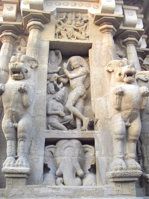 Famous temples in TamilNadu India - Kailasanathar temple in Kancheepuram