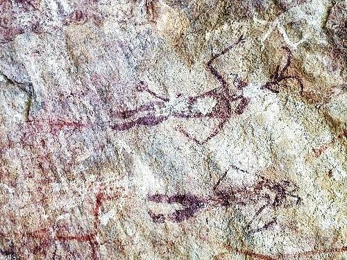 Chhattisgarh Tribal paintings - Ongna Raigarh India