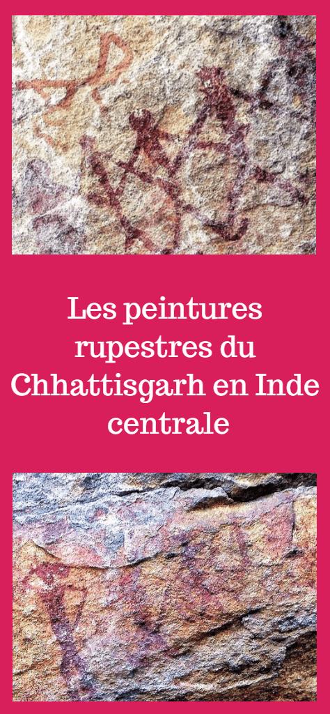 Peintures rupestres du Chhattisgarh en inde centrale - Ongna et Kabra