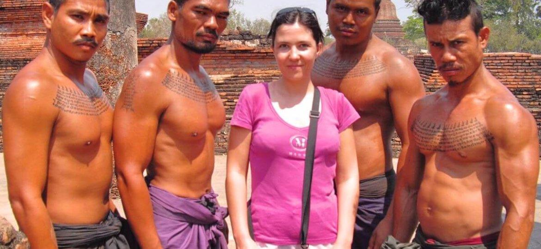 Stephanie Langlet voyageuse solo à Sukhothai en Thailande
