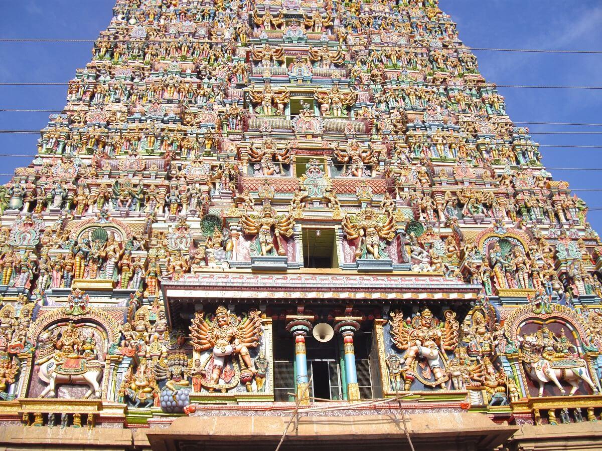 Meenakshi Amman Temple Madurai Tamil Nadu India