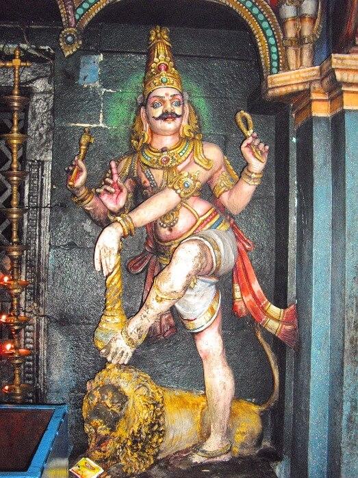 Annamalaiyar temple Tiruvannamalai Tamil Nadu India