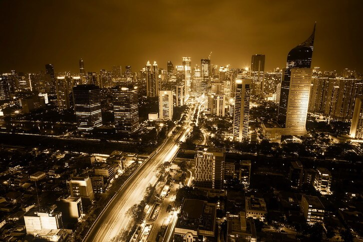 You should backpack Jakarta by night if you want to experience the bustling atmosphere of the capital of Java Indonesia