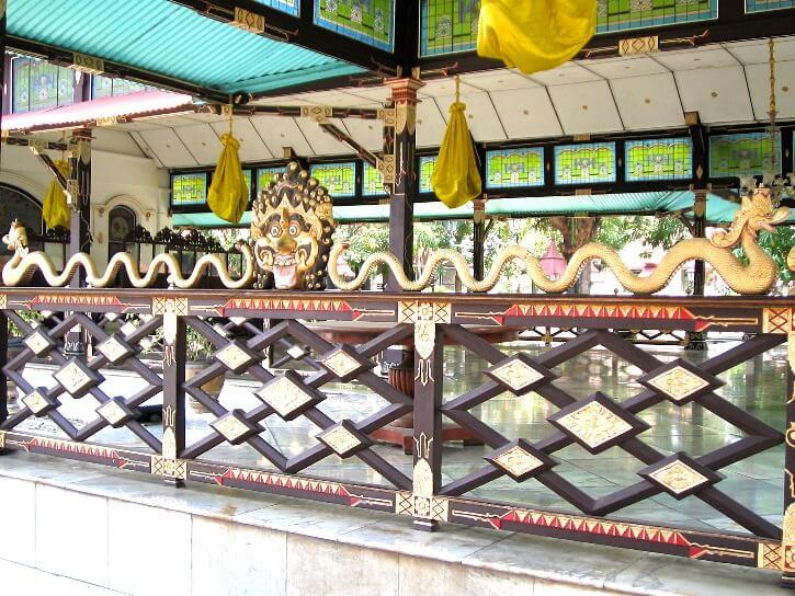 Un des bâtiments du Kraton, le palais du Sultan de Jogjakarta