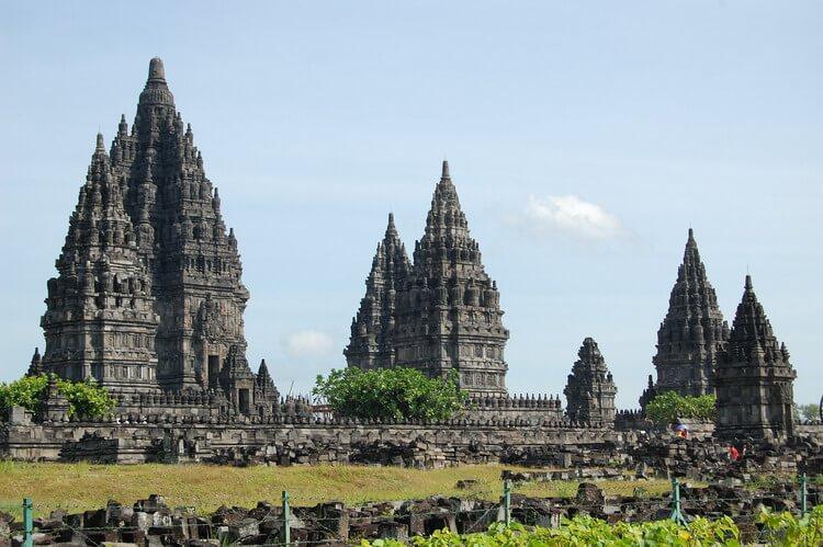 serajah candi prambanan, the historical temples of Prambanan Java Indonesia