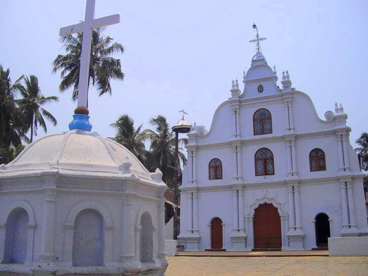Eglise Jeevamatha Mattancherry Cochin Kerala Inde