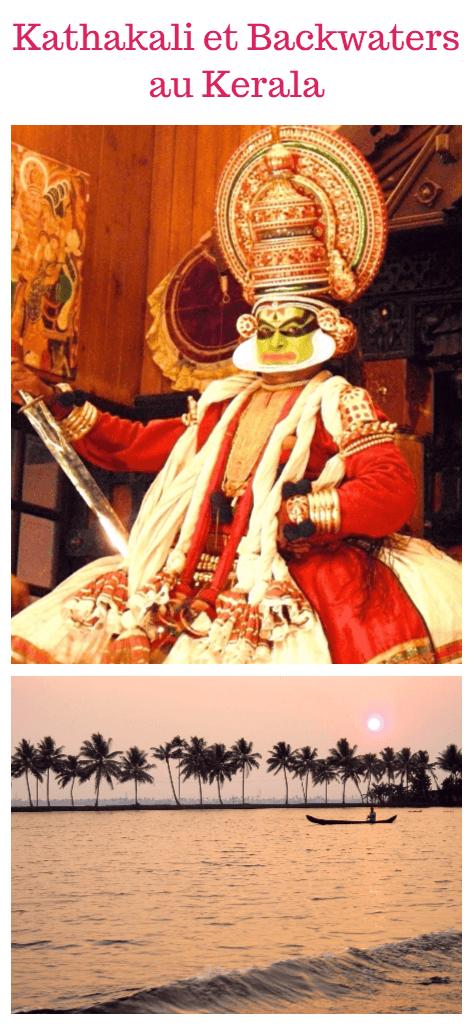 Kathakali, Backwaters et réserve sauvage au Kerala Inde du Sud
