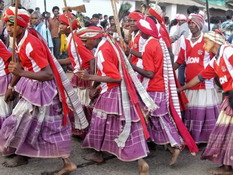 The Tribes of Bastar during Bastar Dussehra in India