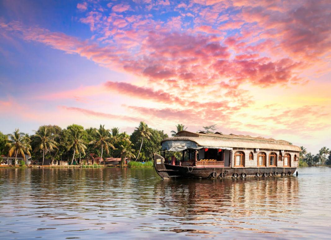 Houseboat sur les Backwaters du Kerala