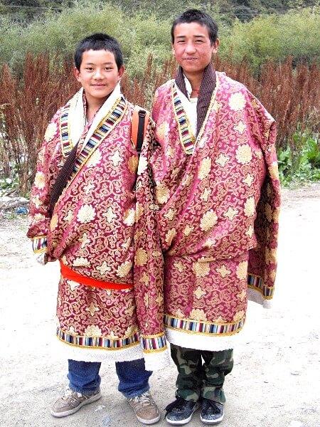 Blog Voyage Chine - jeunes Tibétains au monastère de Labrang Xiahe