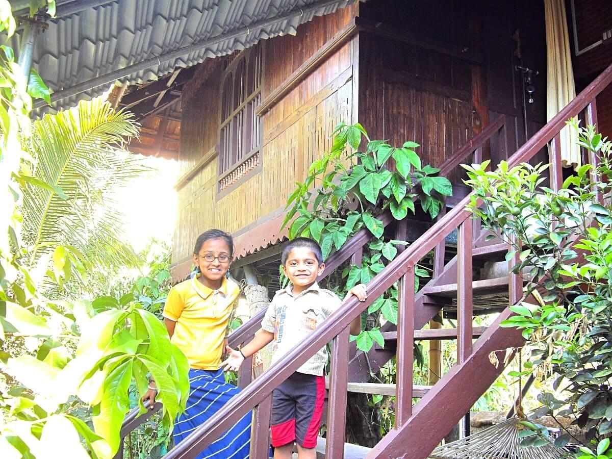 Tamil kids in Kumily Kerala India