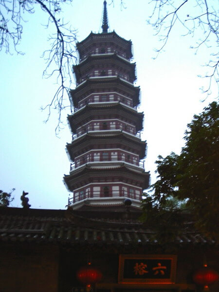 PLaces to visit in Guangzhou: temple of the six banians
