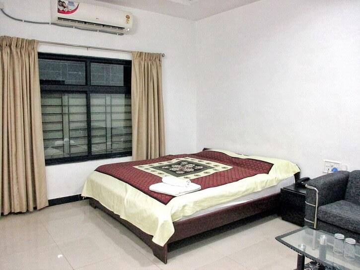Hieun Tsiang Sirpur resort HH bedroom