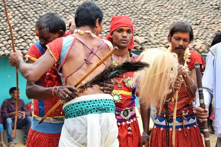 Abhuj Maad Tribe of Bastar - mediums in Narayanpur