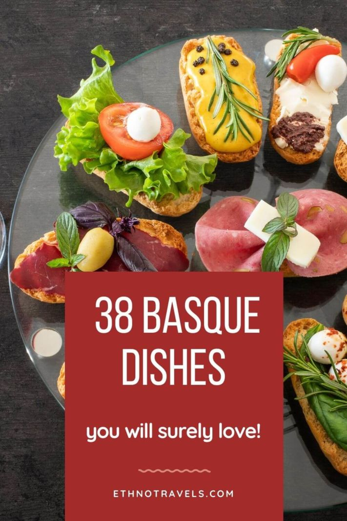 Best typical Basque dishes