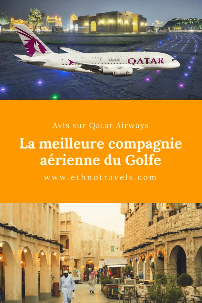 Mon avis complet sur la compagnie aérienne Qatar Airways