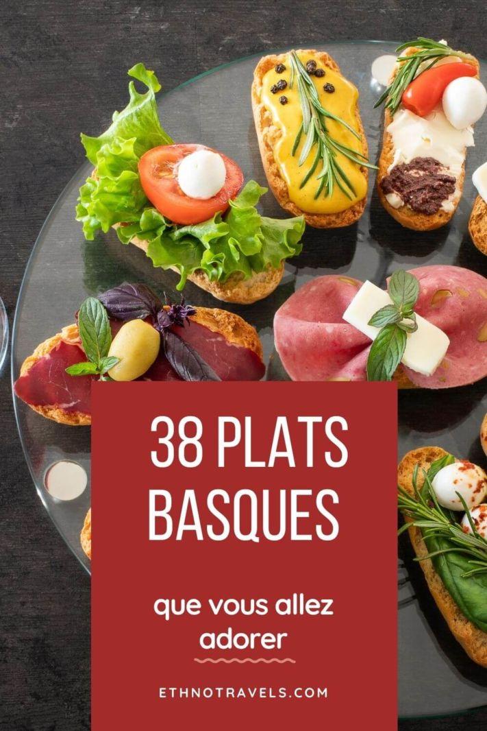 38 plats typiques Basques que vous allez adorer