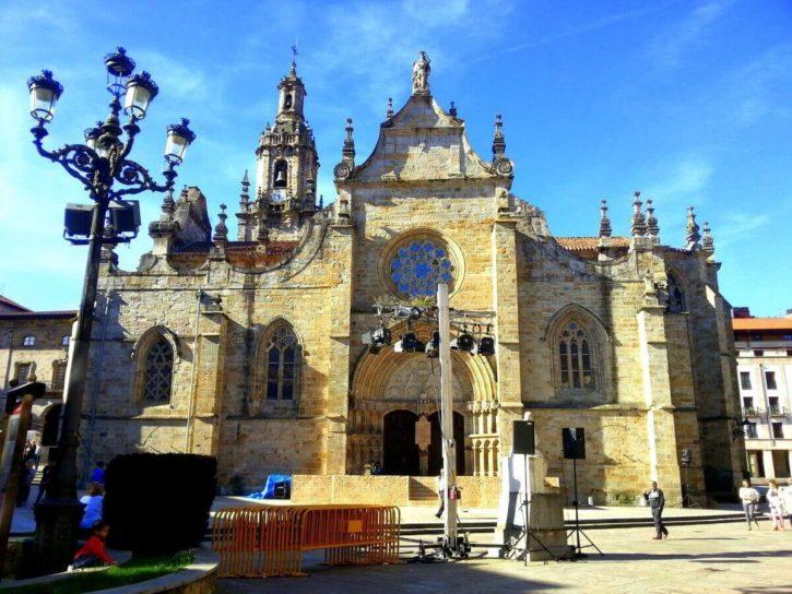 Eglise de San severino Balmaseda Biscaye