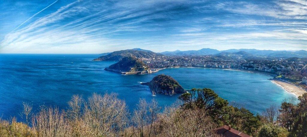 Baie de la Concha à Saint sébastien Pays Basque espagnol