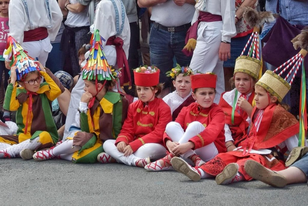 Kaskarots from Labourd carnival