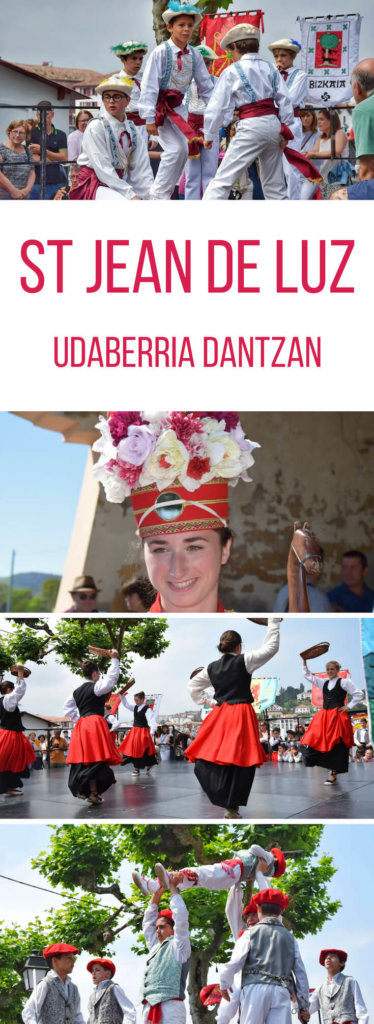 What to do in Saint Jean de Luz France: Basque dance festivals in June