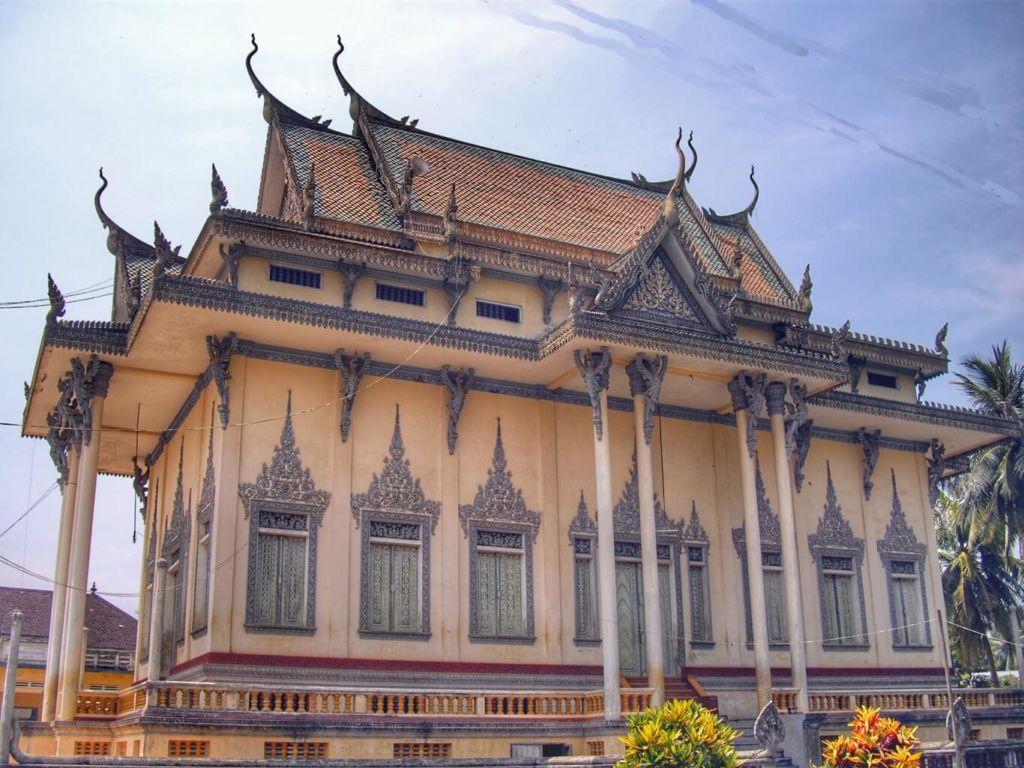 Principale pagode de Battambang Cambodge