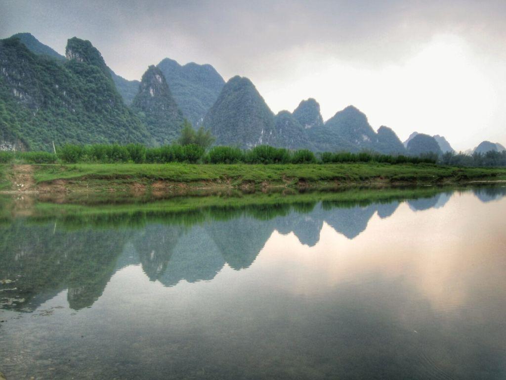 Karst peaks along Li River