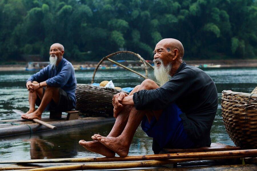 Riviere Li Guangxi Chine