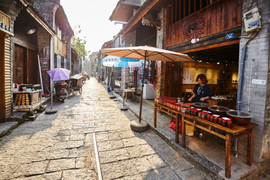 Rue du vieux Xinping