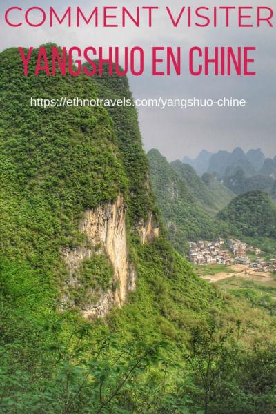 Guide de voyage de Yangshuo en Chine du Sud
