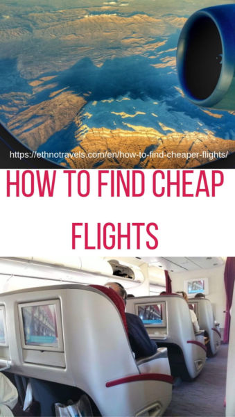 My 9 hacks on how to find cheap flights
