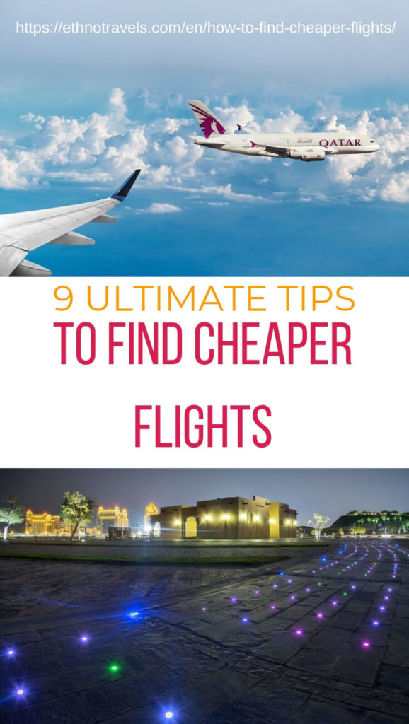 9 ultimate tips to find cheaper flights