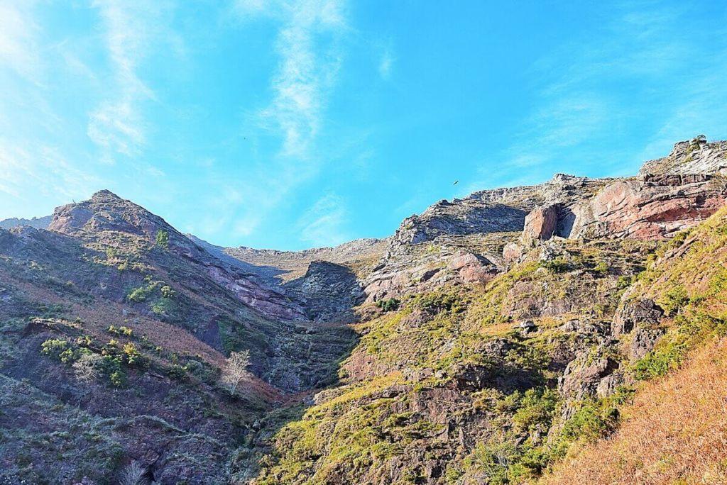 Hiking Pyrenees Basque mountains in Bidarray