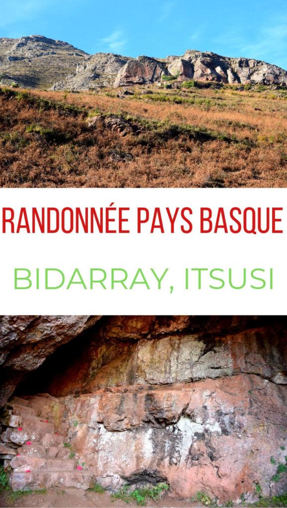 Randonnée Bidarray Pyrénées atlantiques